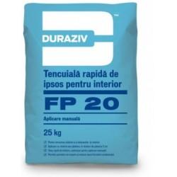 Tencuiala de ipsos Duraziv FP20 25Kg