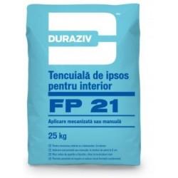 Tencuiala mecanizata Duraziv FP21 25Kg