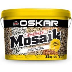 Tencuiala decorativa pentru soclu Oskar Mosaik 25Kg