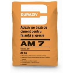 Adeziv pentru placi ceramice Duraziv AM7 25 kg