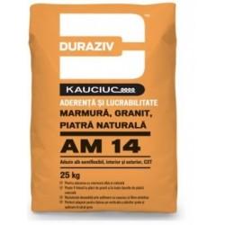 Adeziv semiflexibil pentru marmura, granit si piatra naturala Duraziv AM14 25Kg