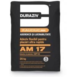 Adeziv flexibil pentru placi ceramice Duraziv AM17 20Kg